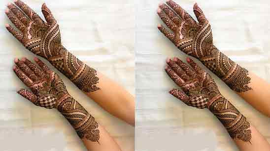 Easy Simple Mehndi Designs For Front Hands