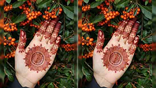 Easy Simple Mehndi Designs For Kids Step By Step