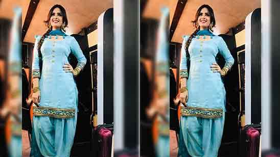 Fancy Party Wear Salwar Suits