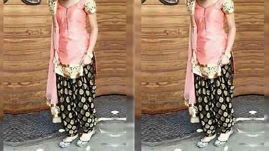 Fancy Punjabi Dhoti Salwar Suit