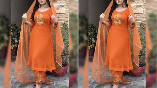 Frock Suit With Salwar