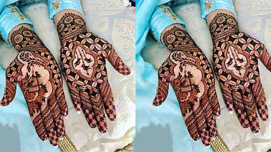 Front Hand Mehndi Design Easy And Beautiful