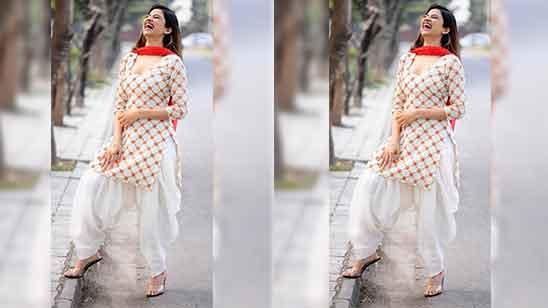 Full Patiala Salwar Suit