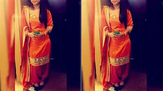 Full Patiala Suit Salwar