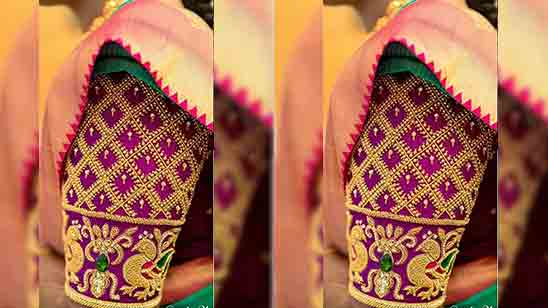 Hand Embroidery Designs For Blouse