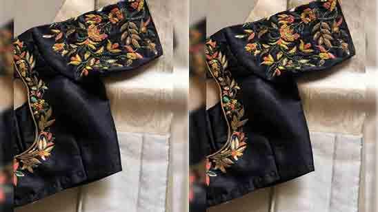 Hand Embroidery Designs On Kurtis