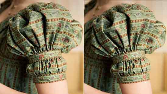 Hand Frill Blouse Designs