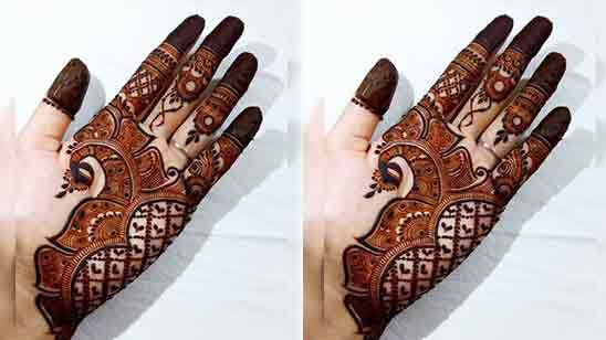 Hand Mehndi Design Simple And Easy