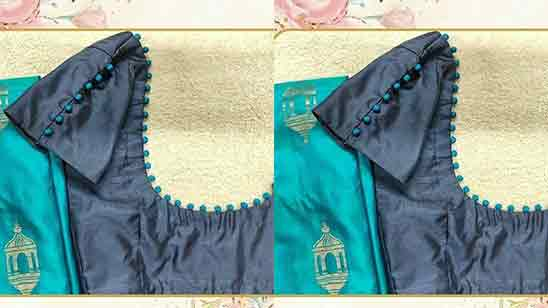 Hand Work Designs For Blouse