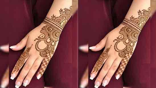 Mehandi Designs Arabic Simple And Easy