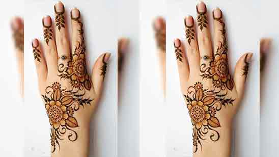 Mehndi Design Arabic Simple And Easy