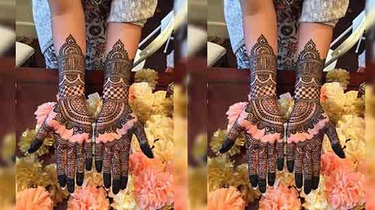 Mehndi Design Easy And Beautiful Full Hand