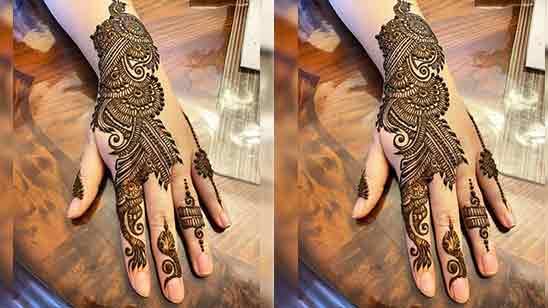 Mehndi Designs Arabic Simple And Easy
