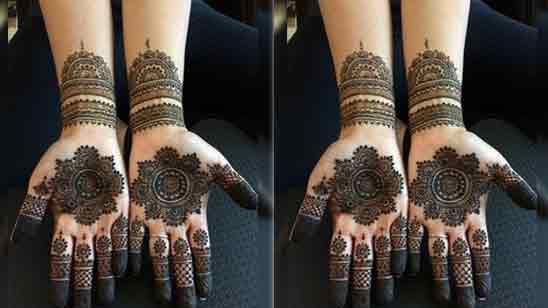 Mehndi Designs Arabic Simple And Easy For Back Hands