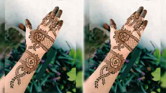 Mehndi Designs For Front Hand Simple And Easy