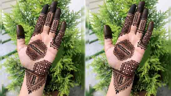 Mehndi Simple Designs For Hands Step By Step
