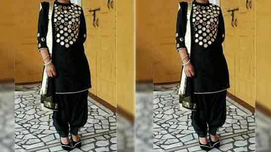 Party Wear Patiala Dress