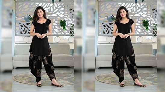 Party Wear Punjabi Salwar Suit