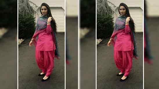 Party Wear Salwar Suit Design