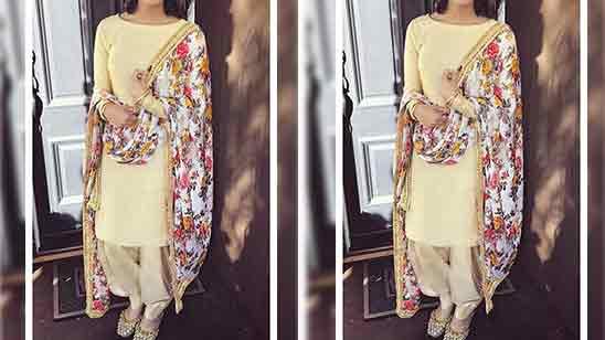 Party Wear Salwar Suit For Ladies