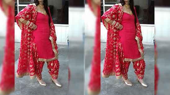 Partywear Patiala Suit