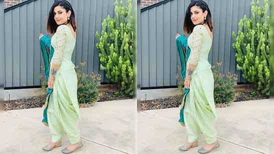 Patiala Punjabi Salwar Suit