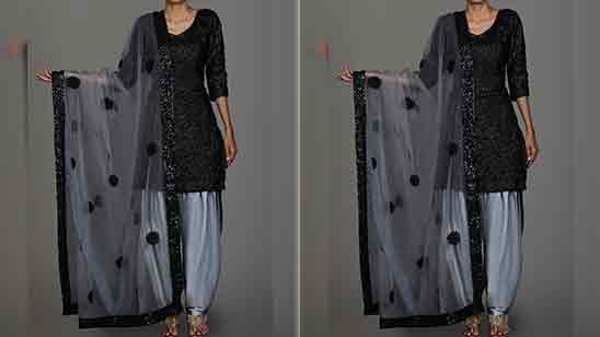 Patiala Salwar Suit For Baby Girl