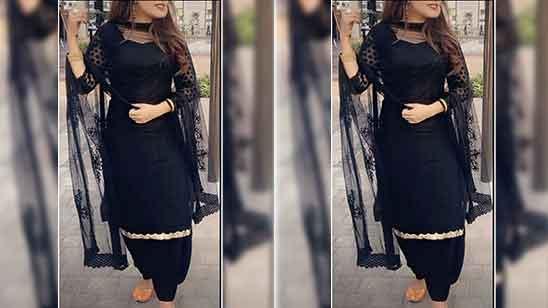 Patiala Suit Salwar Designs