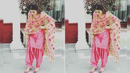Patiala Suit Salwar For Girls