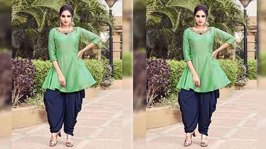 Punjabi Dhoti Salwar Suit