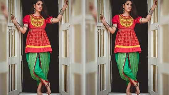 Punjabi Dhoti Salwar Suit Design