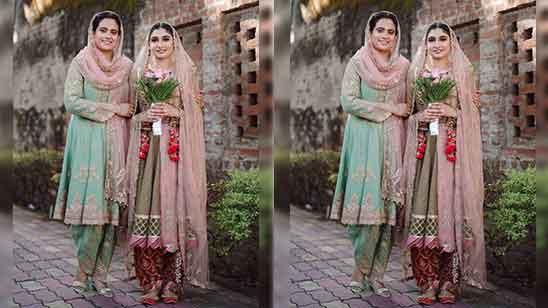 Punjabi Frock Suit With Salwar