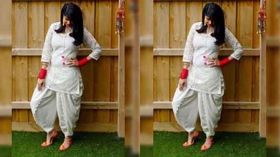 Punjabi Patiala Salwar New Punjabi Suit Design 2020