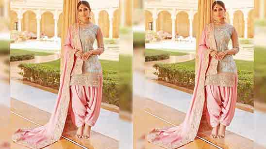 Punjabi Patiala Salwar Suit Party Wear
