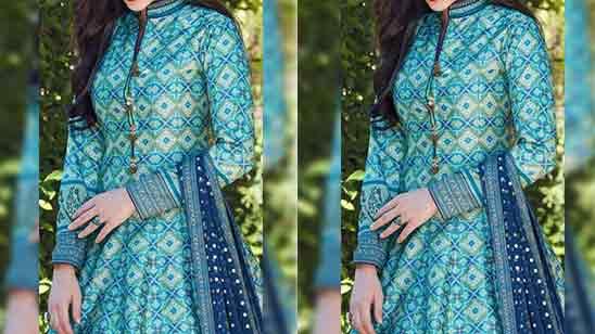 Punjabi Salwar Suit Neck Designs