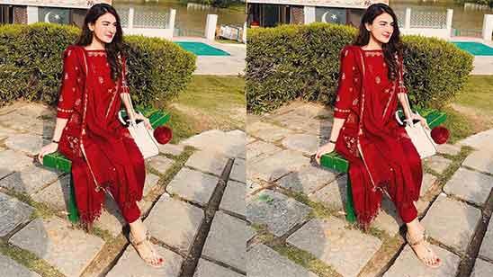 Punjabi Salwar Suit Simple
