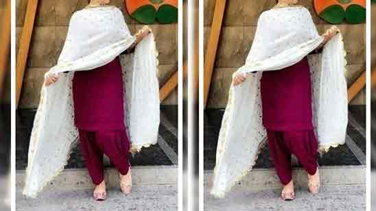 Punjabi Salwar Suits Images