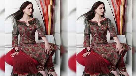 Punjabi Suit Front Neck Design