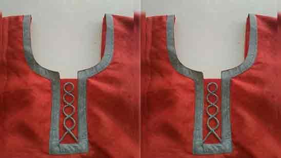 Salwar Front Neck Design