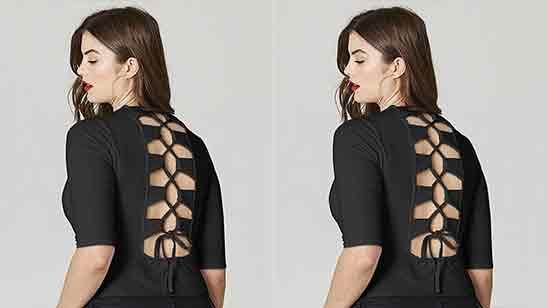 Salwar Suit Back Neck Design