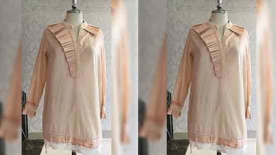 Salwar Suit Front Neck Design
