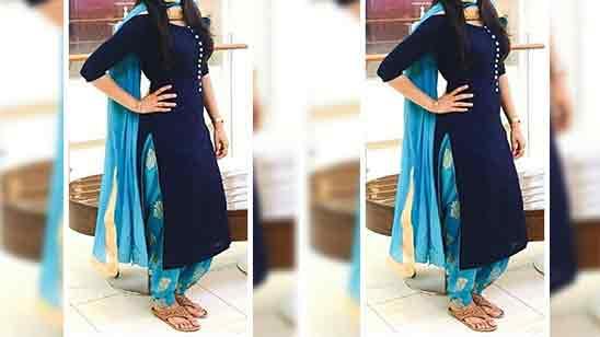 Salwar Suit Gala Design Image