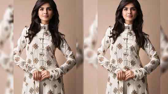 Salwar Suit High Neck Design