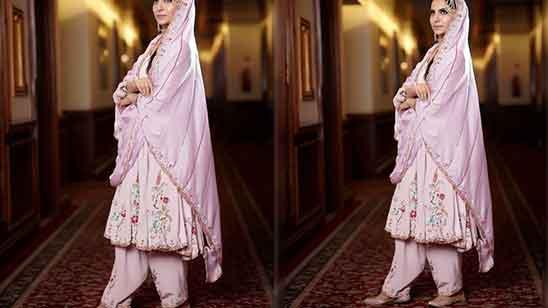 Short Frock Suit With Salwar