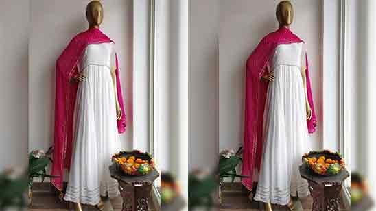 Simple Anarkali Salwar Suit