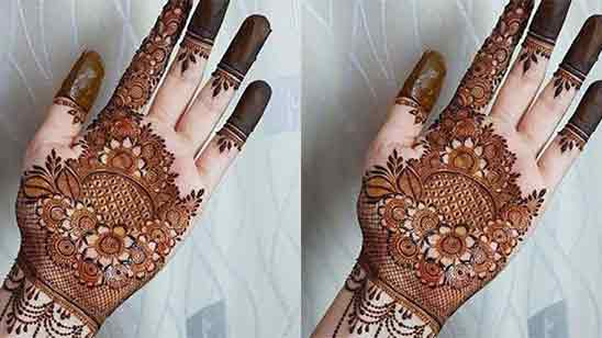 Simple And Beautiful Mehndi Designs For Front Hands