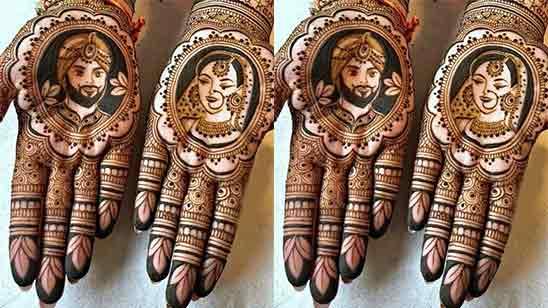 Simple Easy Front Hand Mehndi Design