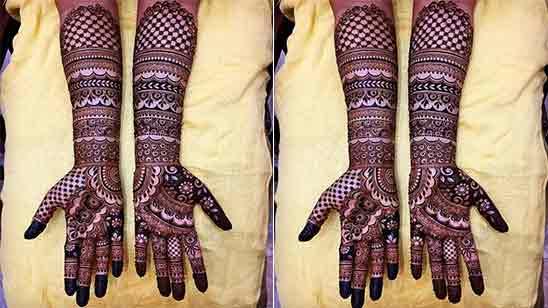 Simple Easy Mehndi Designs Full Hand