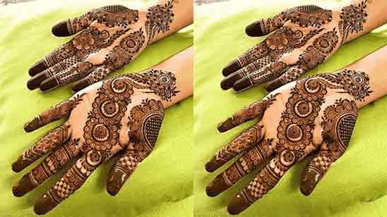 Simple Hand Designs Mehndi