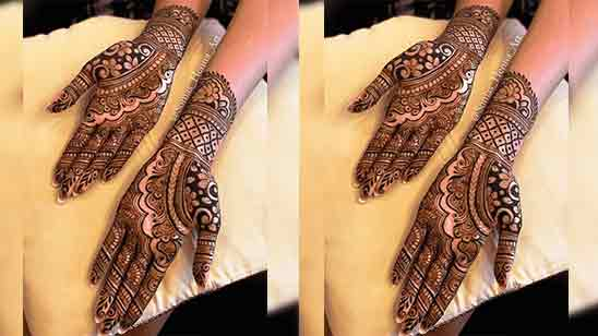 Simple Mehndi Designs For Back Hands Step By Step